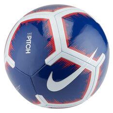 Nike Premier League Pitch Soccer Ball, Blue / White, rebel_hi-res
