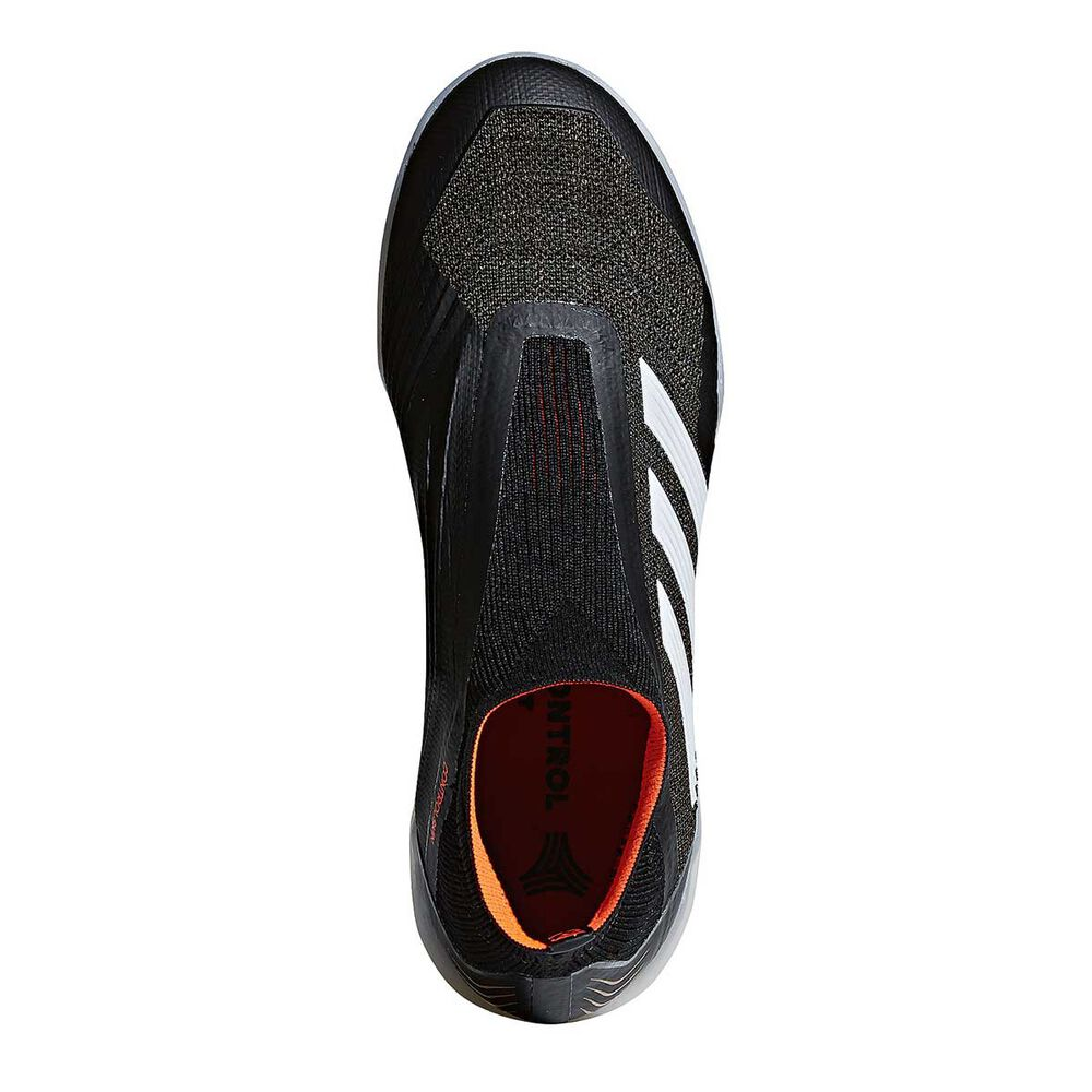 new concept 6b149 37864 adidas Predator Tango 18+ Mens Indoor Soccer Shoes Black   White US 9 Adult,