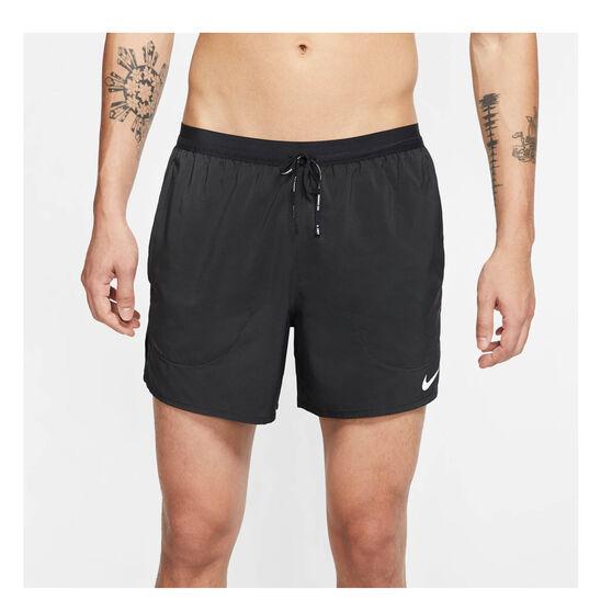 Nike Mens Flex Stride 5in Running Shorts, Black, rebel_hi-res