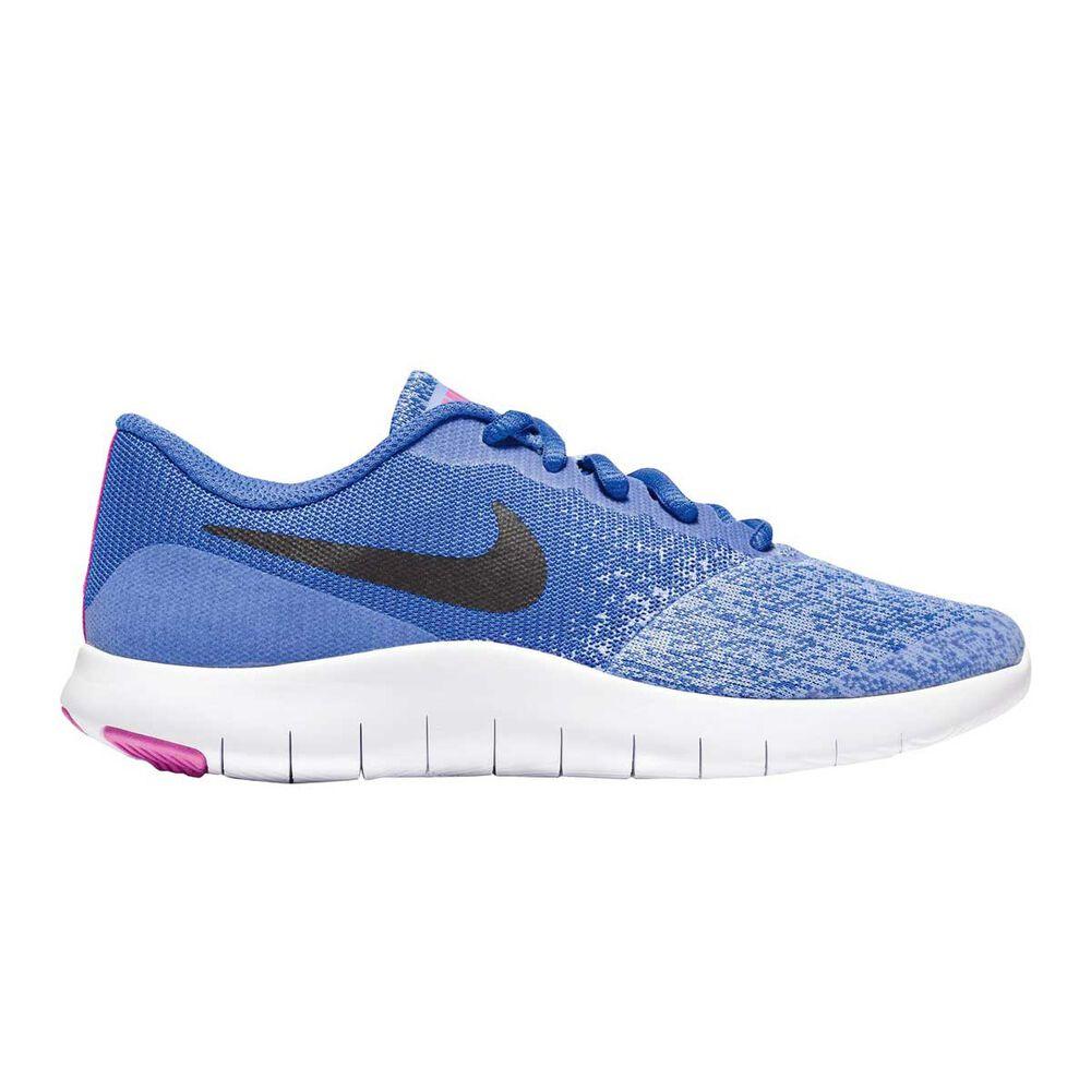 cd2ce5d005e Nike Flex Contact Girls Running Shoes Blue   White US 4