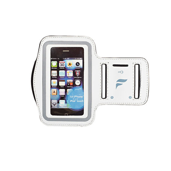 Fly Active Android Audio Armband OSFA White, , rebel_hi-res