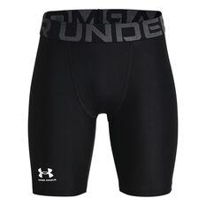 Under Armour Boys Heatgear Armour Shorts Black XS, Black, rebel_hi-res