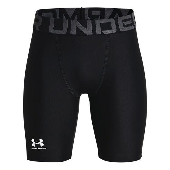 Under Armour Boys Heatgear Armour Shorts, Black, rebel_hi-res