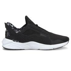 Puma LQDCELL Method Untamed Womens Training Shoes Black/Silver US 6, Black/Silver, rebel_hi-res