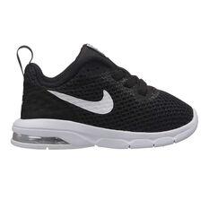 Nike Air Max Motion Toddlers Shoes Black / White US 2, Black / White, rebel_hi-res