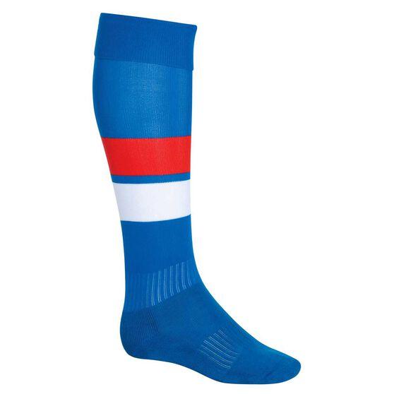 Burley Bulldogs Football Socks, , rebel_hi-res