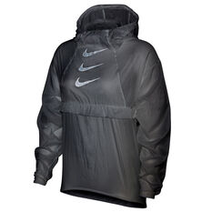 Nike Womens Run Division Packable Running Jacket White XS, White, rebel_hi-res