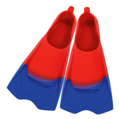 Zoggs Ultra Silicone Fins Red US 2 - 3, , rebel_hi-res