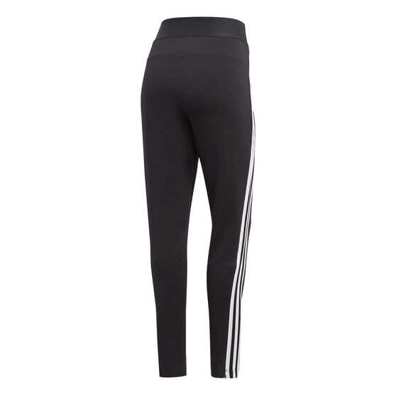 adidas Womens Z.N.E Track Pants Black L, Black, rebel_hi-res