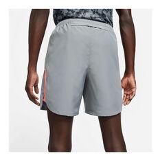 Nike Mens Challenger Wild Run Running Shorts Grey S, Grey, rebel_hi-res