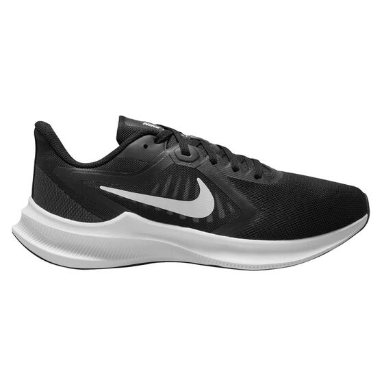 Nike Downshifter 10 Womens Running Shoes Black/White US 11, Black/White, rebel_hi-res