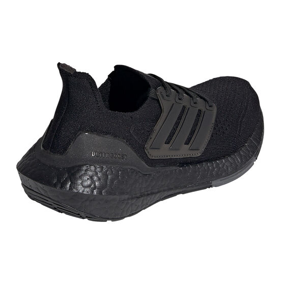 adidas Ultraboost 21 Kids Running Shoes, Black, rebel_hi-res