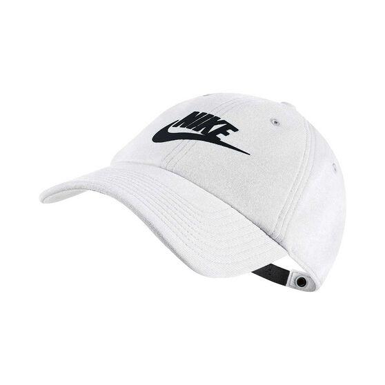 Nike Womens Heritage86 Cap White   Black OSFA  f16f1eca05c