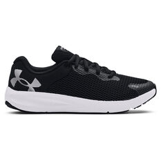 Under Armour Charged Pursuit 2 Womens Running Shoes Black/Grey US 6, Black/Grey, rebel_hi-res