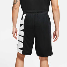 Nike Mens Dri-FIT Basketball Shorts Black S, Black, rebel_hi-res