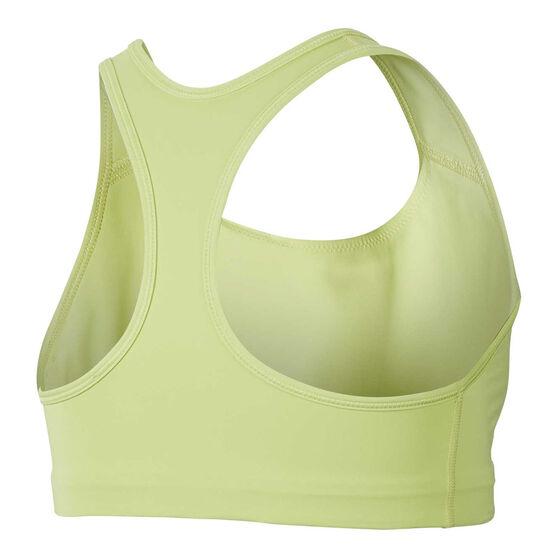 Nike Womens Medium Support Sports Bra, Yellow, rebel_hi-res