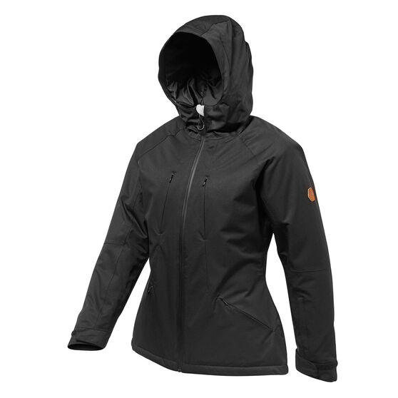 Tahwalhi Womens Lake Louise Ski Jacket, Black, rebel_hi-res