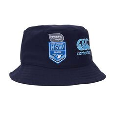 NSW Blues State of Origin 2019  Bucket Hat Blue S / M, Blue, rebel_hi-res