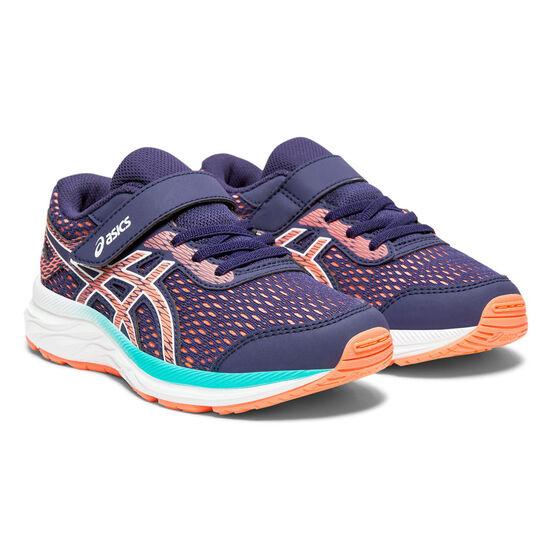 Asics GEL Excite 6 Kids Running Shoes, Purple / Pink, rebel_hi-res