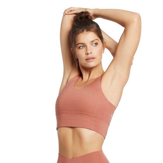 Nimble Womens Back in Action Sports Bra, Pink, rebel_hi-res