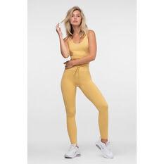 L'urv Womens Awaken Leggings Yellow XS, Yellow, rebel_hi-res