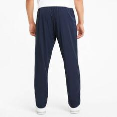 Puma Mens Active Woven Pants, Navy, rebel_hi-res