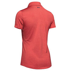 Under Armour Womens Zinger Polo Red XS, Red, rebel_hi-res