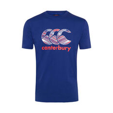 Canterbury Samoa 2019 Mens Themed Tee Blue S, Blue, rebel_hi-res