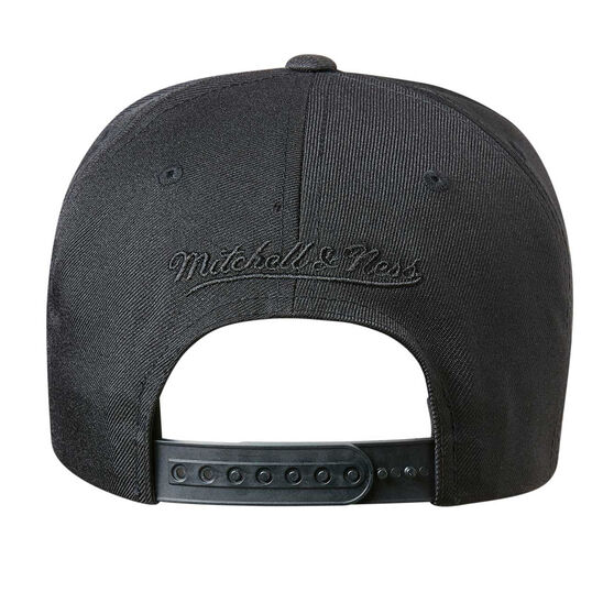 Philadelphia 76ers Black On Black 110 Pinch Cap, , rebel_hi-res