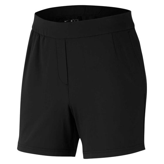 Nike Women Flex Victory 5in Golf Shorts, Black, rebel_hi-res