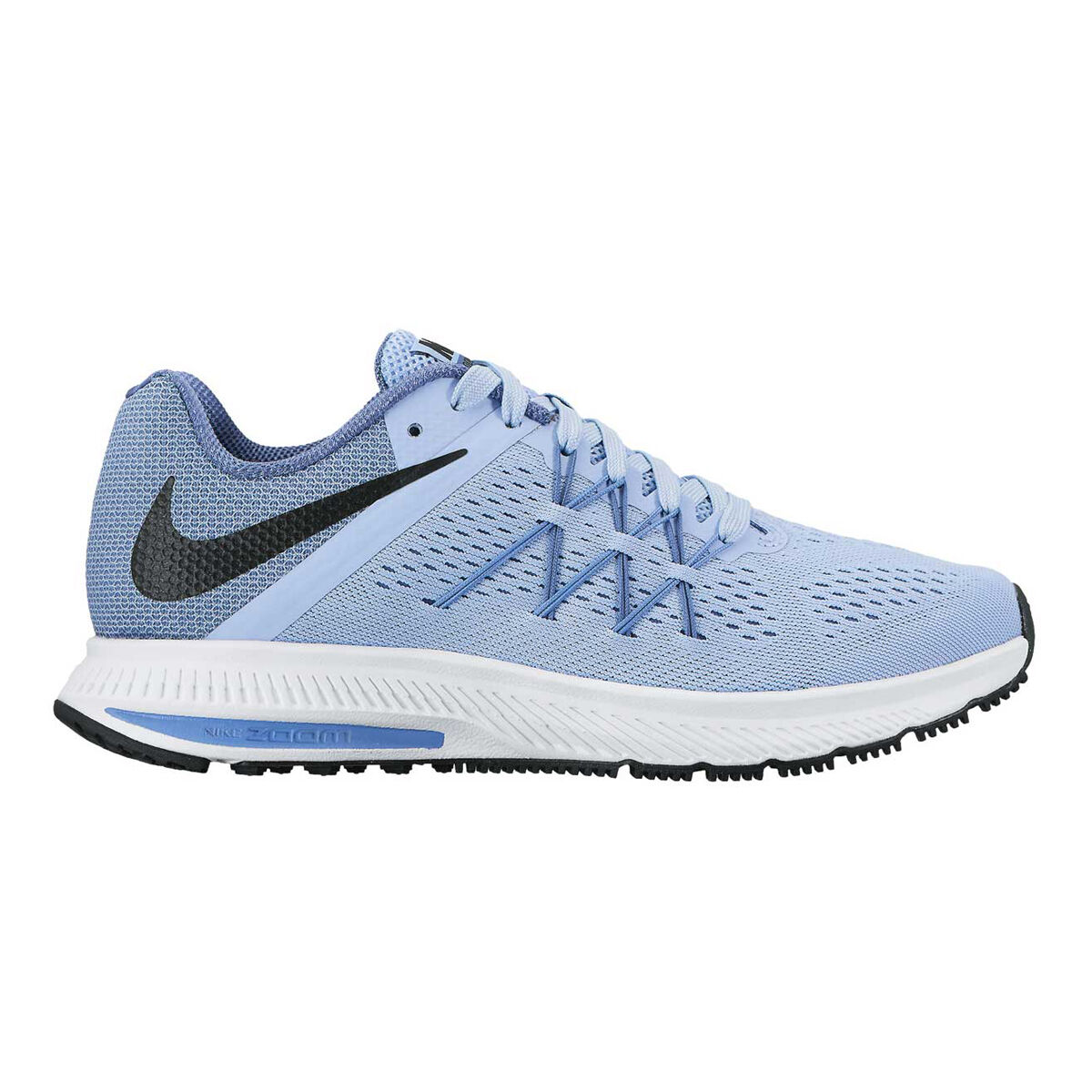 10d13a481c5 ... new zealand nike zoom winflo 3 womens running shoes blue white us 8 blue  white e30cd