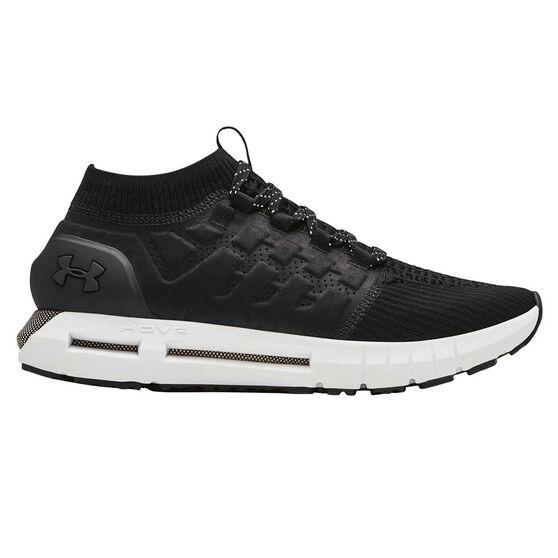 Under Armour HOVR Phantom Mens Running Shoes, Black / White, rebel_hi-res