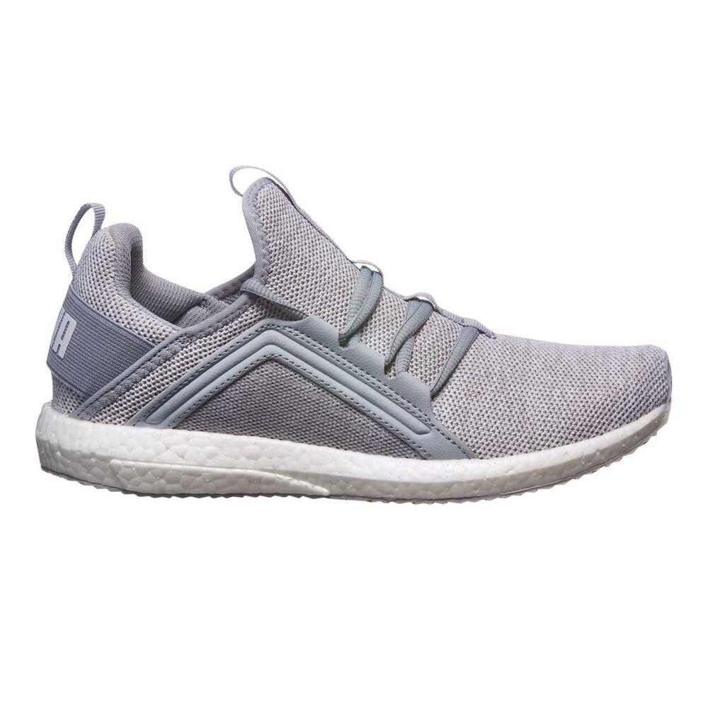 8039d4094cd9 Puma Mega NRGY Knit Womens Running Shoes Grey   Black US 6