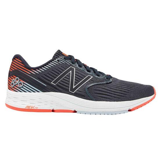 New Balance 890v6 Womens Running Shoes, Grey, rebel_hi-res
