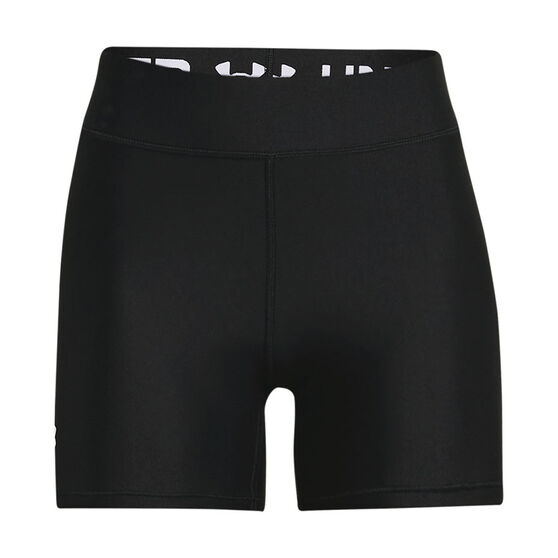 Under Armour Womens HeatGear Armour Mid-RIse Middy Shorts, , rebel_hi-res