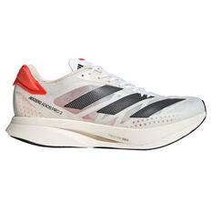 adidas Adizero Adios Pro 2.0 Mens Running Shoes, White/Black, rebel_hi-res