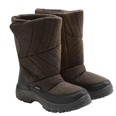 Tahwalhi Low Roll Mens Snow Boots Grey 8, Grey, rebel_hi-res