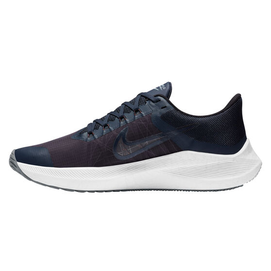 Nike Winflo 8 Mens Running Shoes, Blue/Red, rebel_hi-res
