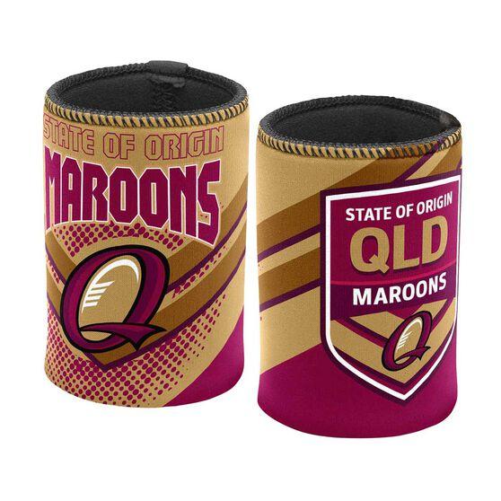 QLD Maroons State of Origin Stubby Holder, , rebel_hi-res