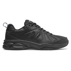 New Balance 624 V4 D Womens Cross Training Shoes Black US 6, Black, rebel_hi-res