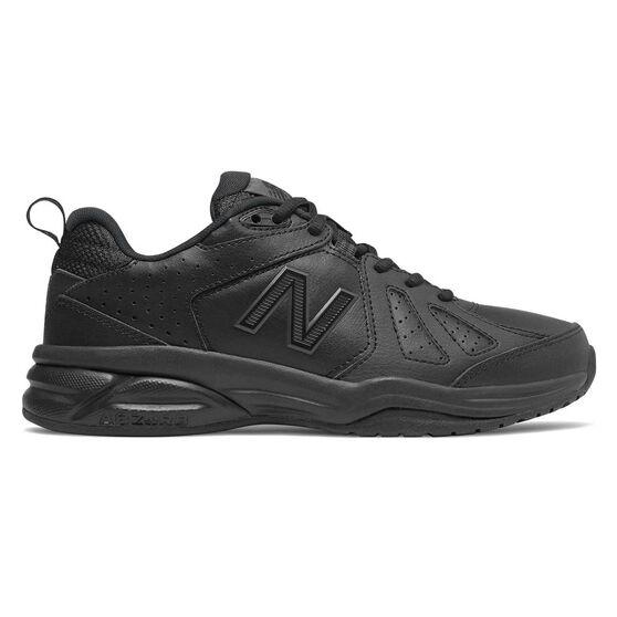 New Balance 624 V4 D Womens Cross Training Shoes, Black, rebel_hi-res