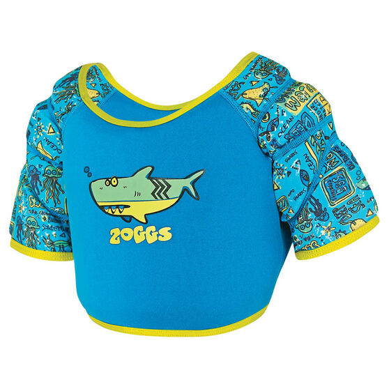 Zoggs Water Wing Vest Blue 2 - 3, , rebel_hi-res