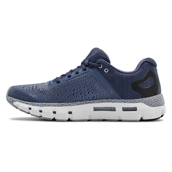 Under Armour HOVR Infinite 2 Mens Running Shoes, Blue/Grey, rebel_hi-res