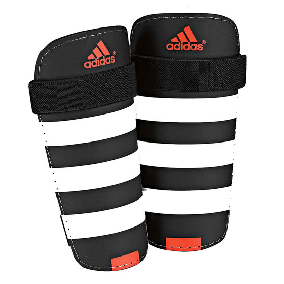 Adidas Everlite Shin Guards Black / White L, Black / White, rebel_hi-res