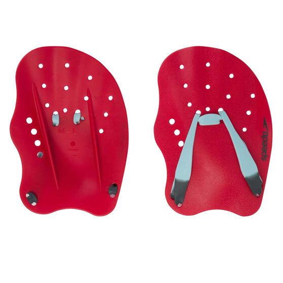 Speedo Tech Paddle, Red, rebel_hi-res