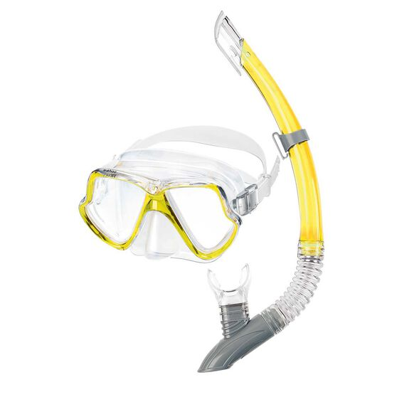 Mares Wahoo Mask and Snorkel Yellow, , rebel_hi-res