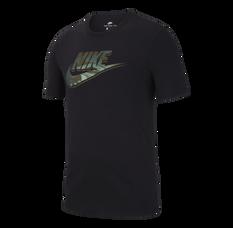 Nike Mens Sportswear Virus Tee Black S, Black, rebel_hi-res