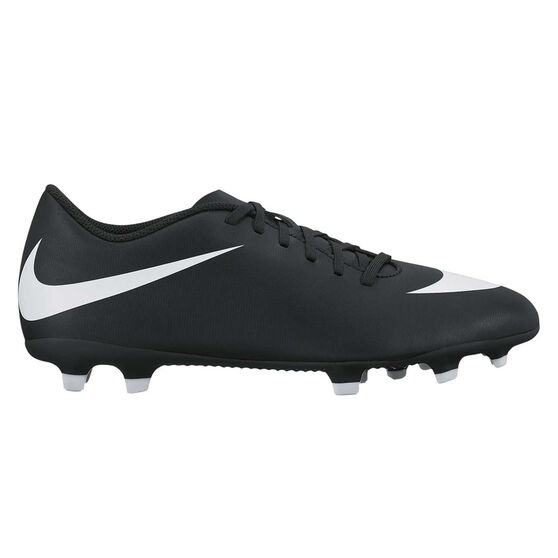 Nike Bravata II Mens Football Boots Black   White US 9 Adult  ed6a2cf33c3e