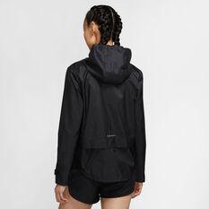 Nike Womens Essential Running Jacket, Black, rebel_hi-res