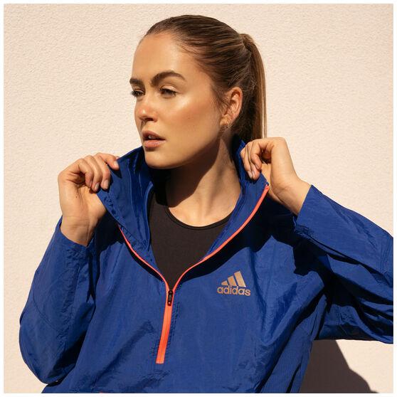 adidas Womens Adapt Jacket, Blue, rebel_hi-res